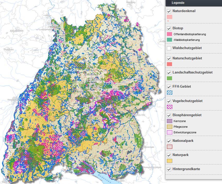 Infodienst Lel Schwabisch Gmund Schutzgebiete